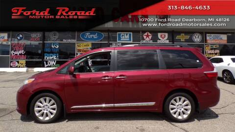 2015 Toyota Sienna for sale at Ford Road Motor Sales in Dearborn MI