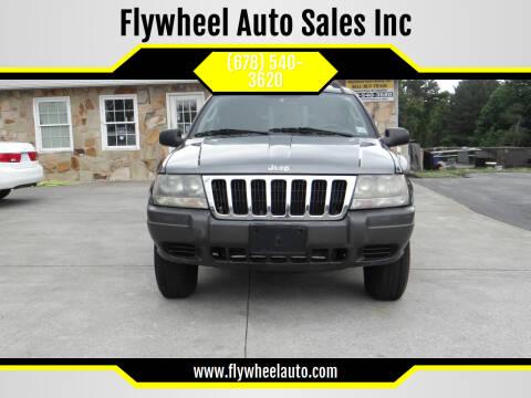 2003 Jeep Grand Cherokee for sale at Flywheel Auto Sales Inc in Woodstock GA