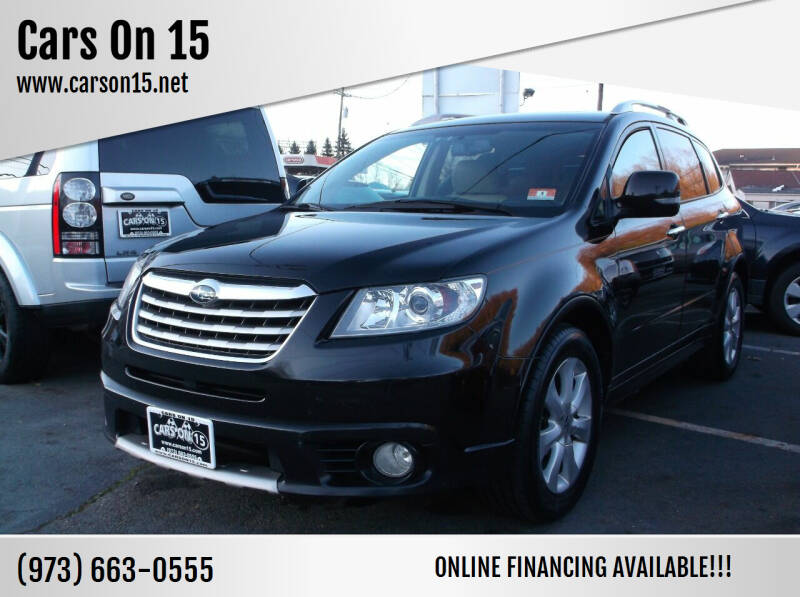 2010 Subaru Tribeca for sale at Cars On 15 in Lake Hopatcong NJ