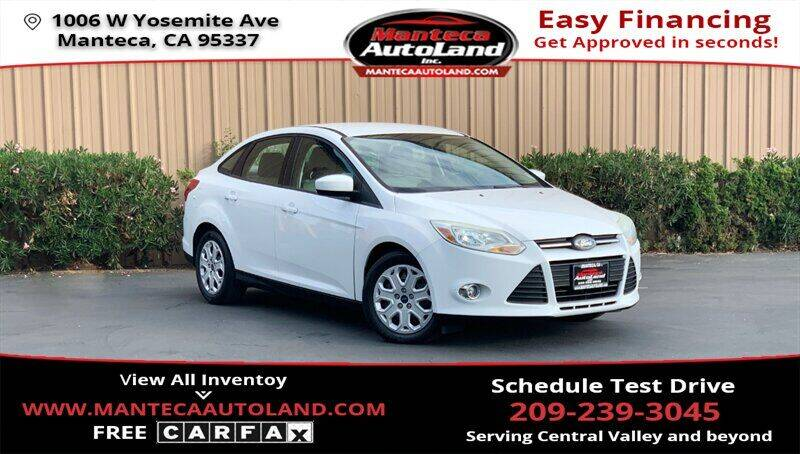 2012 Ford Focus for sale in Manteca, CA