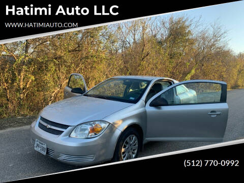 2009 Chevrolet Cobalt for sale at Hatimi Auto LLC in Buda TX