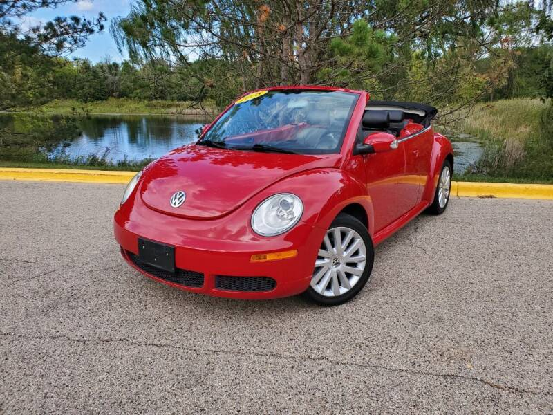 2008 Volkswagen New Beetle Convertible for sale in Palatine, IL