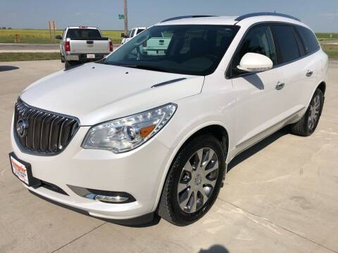 2016 Buick Enclave for sale at SPANGLER AUTOMOTIVE in Glidden IA