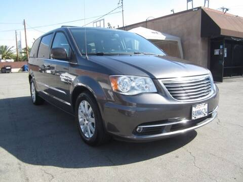 2016 Chrysler Town and Country for sale at Win Motors Inc. in Los Angeles CA