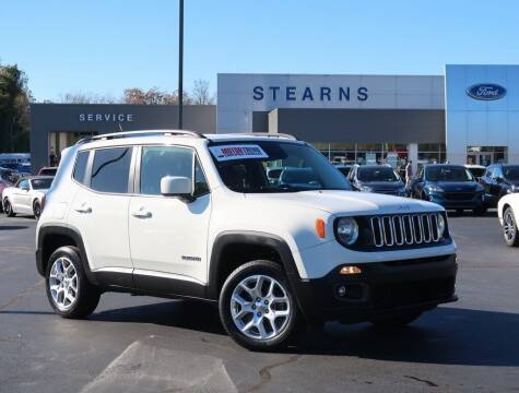 2016 Jeep Renegade for sale at Stearns Ford in Burlington NC