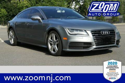 2013 Audi A7 for sale at Zoom Auto Group in Parsippany NJ