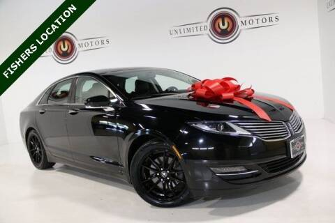 2016 Lincoln MKZ for sale at Unlimited Motors in Fishers IN
