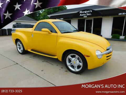 2003 Chevrolet SSR for sale at Morgan's Auto Inc in Paoli IN