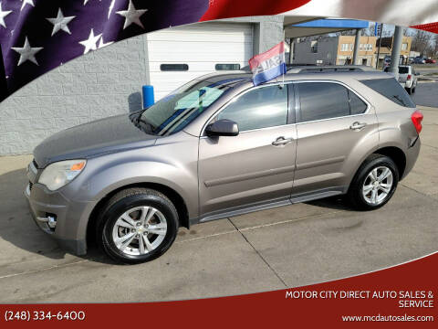 2010 Chevrolet Equinox for sale at Motor City Direct Auto Sales & Service in Pontiac MI