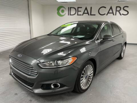 2015 Ford Fusion for sale at Ideal Cars Atlas in Mesa AZ