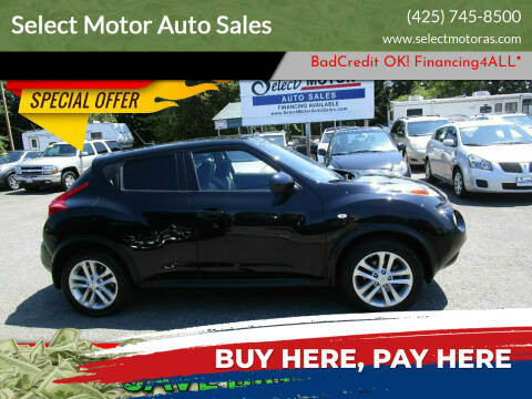 2012 Nissan JUKE for sale at Select Motor Auto Sales in Lynnwood WA