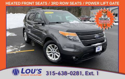 2015 Ford Explorer for sale at LOU'S CAR CARE CENTER in Baldwinsville NY