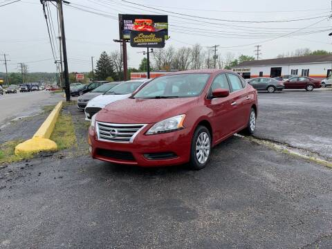 2013 Nissan Sentra for sale at Credit Connection Auto Sales Dover in Dover PA