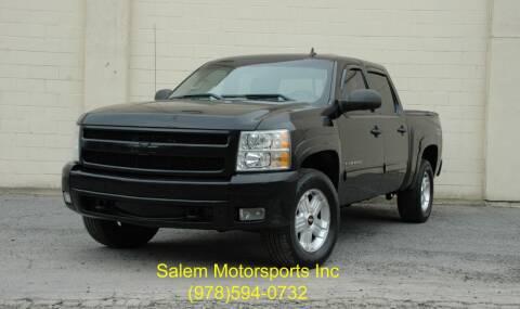 2010 Chevrolet Silverado 1500 for sale at Salem Motorsports in Salem MA