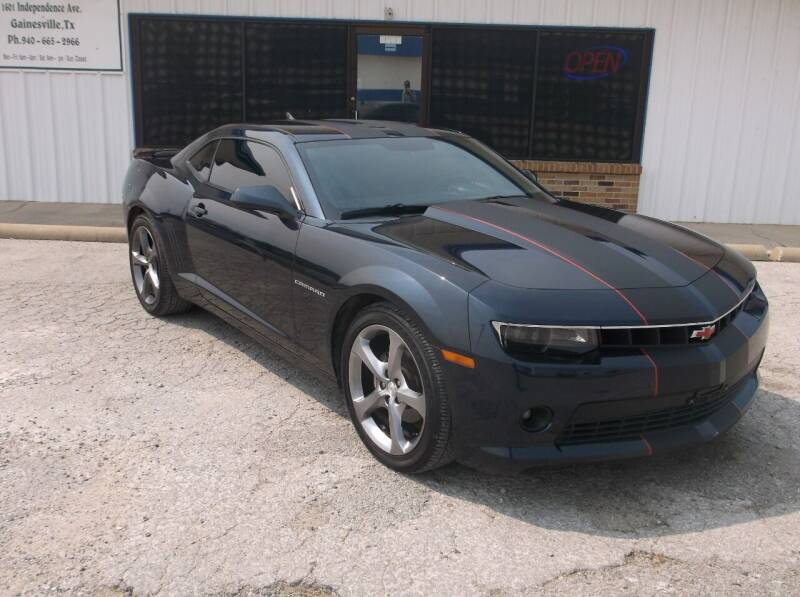 2014 Chevrolet Camaro for sale at AUTO TOPIC in Gainesville TX