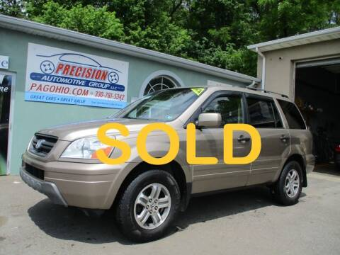 2004 Honda Pilot for sale at Precision Automotive Group in Youngstown OH