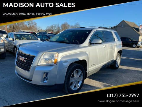 2010 GMC Terrain for sale at MADISON AUTO SALES in Indianapolis IN