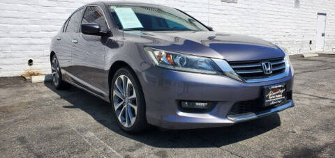 2014 Honda Accord for sale at ADVANTAGE AUTO SALES INC in Bell CA