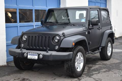 2015 Jeep Wrangler for sale at IdealCarsUSA.com in East Windsor NJ