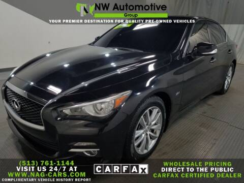 2016 Infiniti Q50 for sale at NW Automotive Group in Cincinnati OH