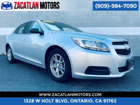 2013 Chevrolet Malibu for sale at Ontario Auto Square in Ontario CA
