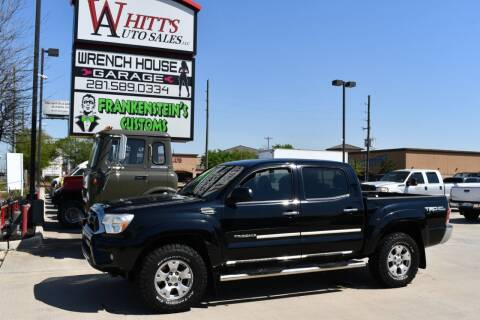 2013 Toyota Tacoma for sale at WHITT'S AUTO SALES, LLC in Houston TX