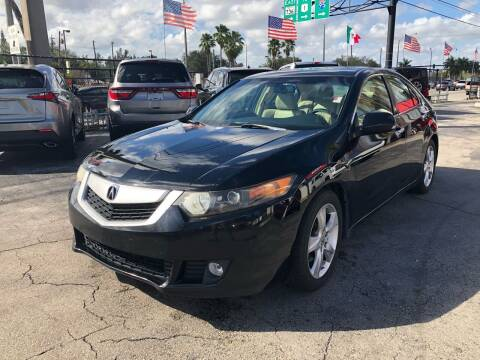 2009 Acura TSX for sale at Gtr Motors in Fort Lauderdale FL