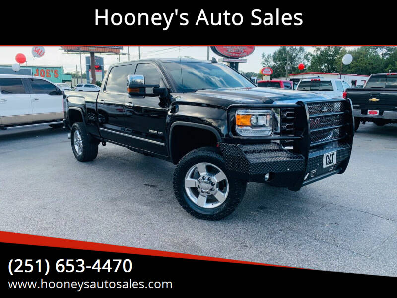 2016 GMC Sierra 2500HD for sale at Hooney's Auto Sales in Theodore AL