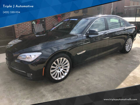2011 BMW 7 Series for sale at Triple J Automotive in Erwin TN