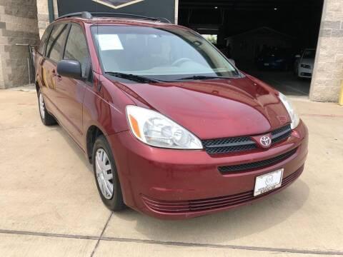 2005 Toyota Sienna for sale at KAYALAR MOTORS - ECUFAST HOUSTON in Houston TX