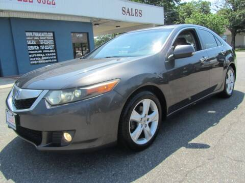 2009 Acura TSX for sale at Trimax Auto Group in Norfolk VA