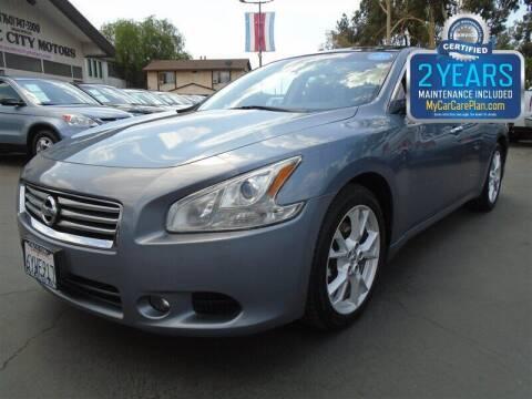 2012 Nissan Maxima for sale at Centre City Motors in Escondido CA