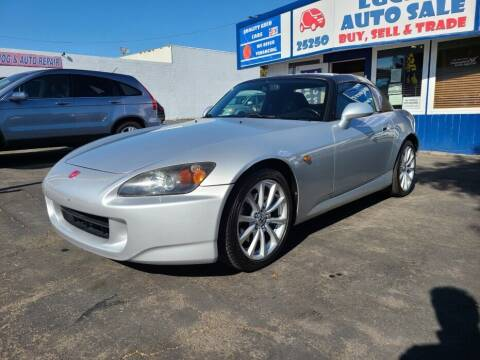 2006 Honda S2000 for sale at Lucky Auto Sale in Hayward CA