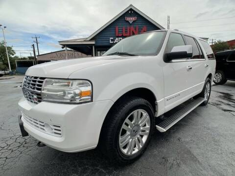 2013 Lincoln Navigator for sale at LUNA CAR CENTER in San Antonio TX
