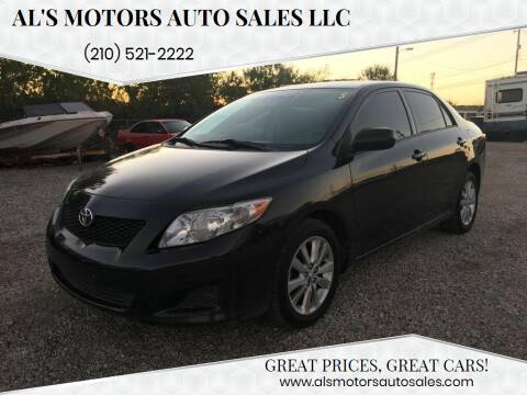 2009 Toyota Corolla for sale at Al's Motors Auto Sales LLC in San Antonio TX
