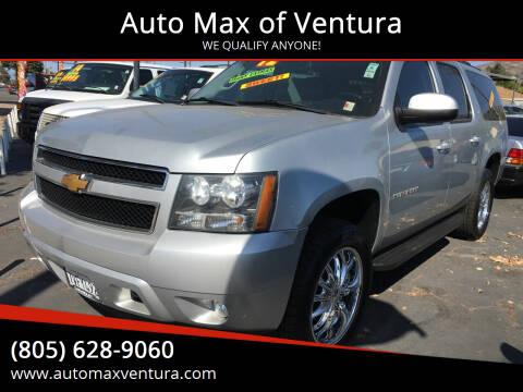 2012 Chevrolet Suburban for sale at Auto Max of Ventura in Ventura CA