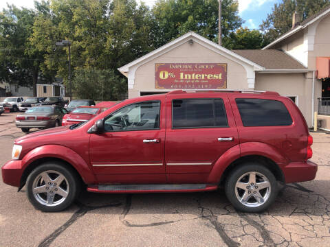 2008 Dodge Durango for sale at Imperial Group in Sioux Falls SD