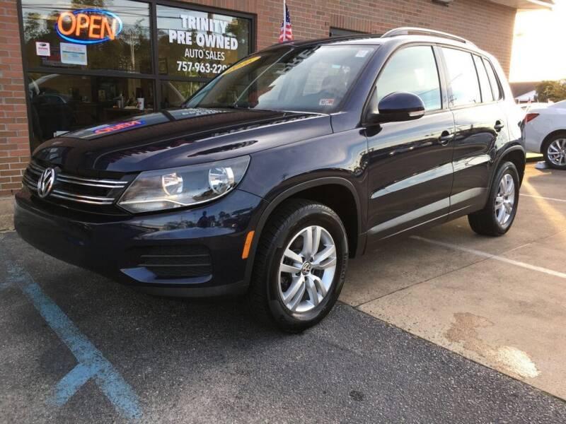 2016 Volkswagen Tiguan for sale at Bankruptcy Car Financing in Norfolk VA