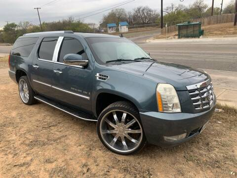 2008 Cadillac Escalade ESV for sale at C.J. AUTO SALES llc. in San Antonio TX