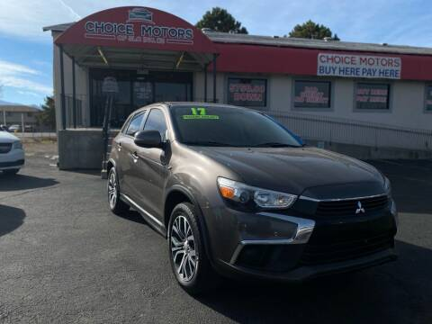 2017 Mitsubishi Outlander Sport for sale at Choice Motors of Salt Lake City in West Valley  City UT