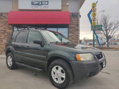 2003 Ford Escape for sale at 719 Automotive Group in Colorado Springs CO