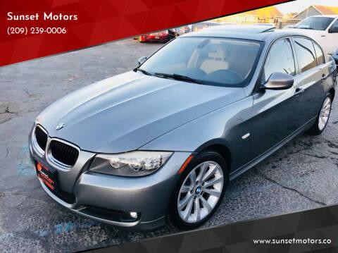 2011 BMW 3 Series for sale at Sunset Motors in Manteca CA