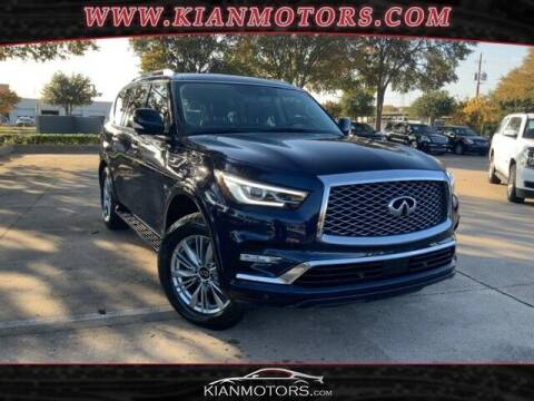 2019 Infiniti QX80 for sale at KIAN MOTORS INC in Plano TX