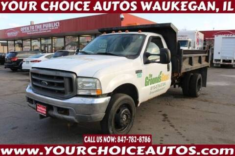 2002 Ford F-450 Super Duty for sale at Your Choice Autos - Waukegan in Waukegan IL