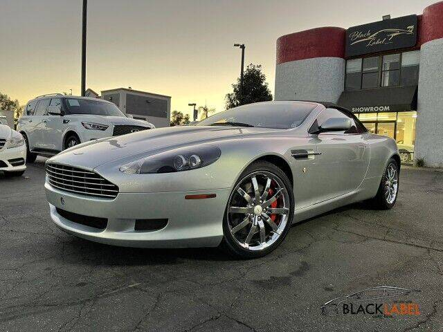 2006 Aston Martin DB9 for sale at BLACK LABEL AUTO FIRM in Riverside CA