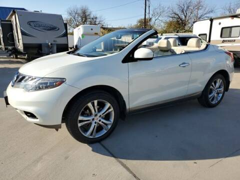 2011 Nissan Murano CrossCabriolet for sale at Kell Auto Sales, Inc - Grace Street in Wichita Falls TX