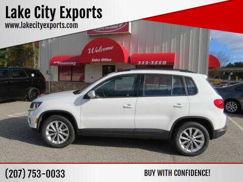 2017 Volkswagen Tiguan for sale at Lake City Exports - Lewiston in Lewiston ME