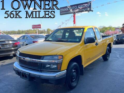 2005 Chevrolet Colorado for sale at Divan Auto Group in Feasterville PA