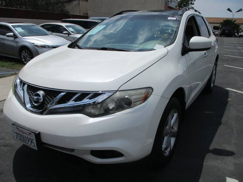 2012 Nissan Murano for sale at F & A Car Sales Inc in Ontario CA
