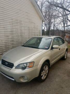 2005 Subaru Outback for sale at E & K Automotive in Derry NH